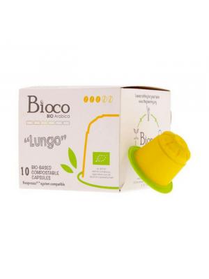 Bioco Lungo Capsules (10 stuks), bio