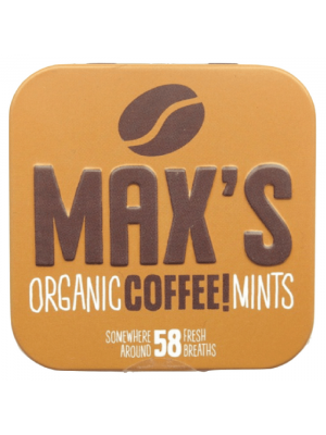 Max's Organic Coffee! Mints