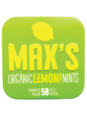 Max's Organic Lemon! Mints