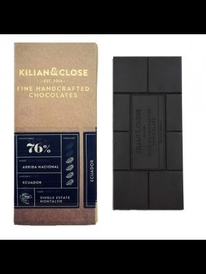 Chocolate 76% Arriba Nacional, organic