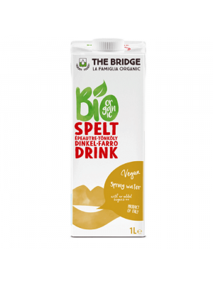 Haverdrink naturel, bio - The Bridge