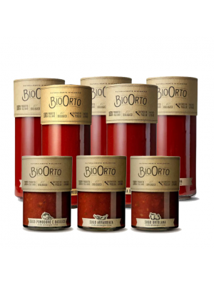 Bio Orto Sauces Tomate - bocal en verre, bio