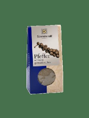 Peper zwart gemalen - 35 g, bio