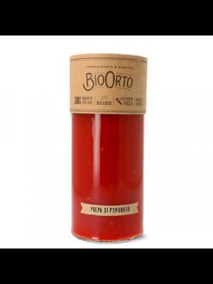 Bio Orto Polpa di Pomodoro Tomatenpulp - glas 520g, bio