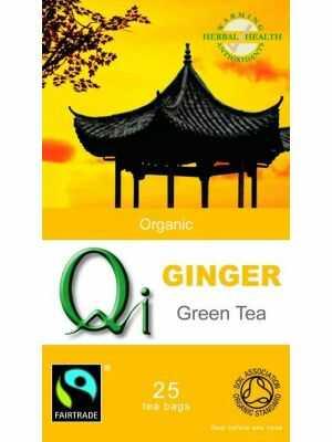 Qi- thee - Biologische Chinese groene thee met gember en venkelzaadjes