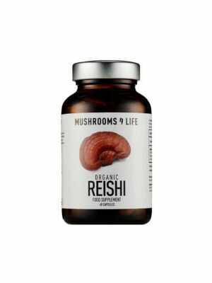 MUSHROOMS4LIFE Reishi voedingssupplement 60 caps, bio