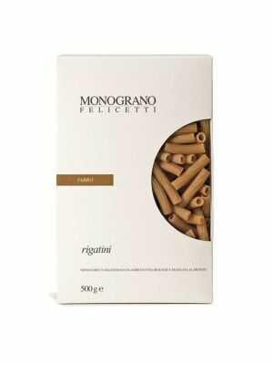 Monograno Felicetti Pasta Rigatini / FARRO 500g, bio
