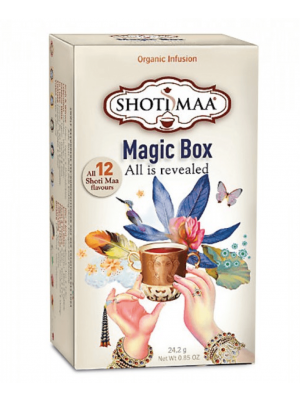 Shoti Maa Chakras Magic Box - sampling box of 12 Ayurvedic teas