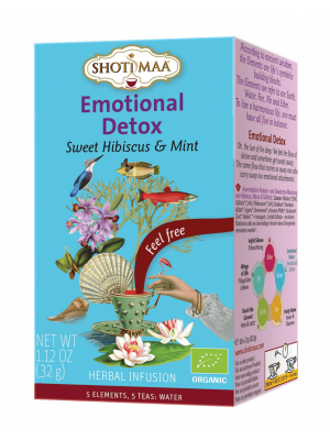 Emotional Detox-  element water - thee van Shoti Maa
