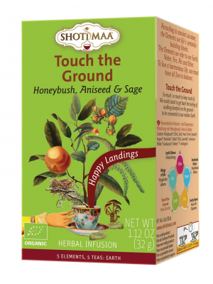 Touch the Ground - La Terre - Infusion ayurvédique à base de honeybush, de graine d'anis et de sauge
