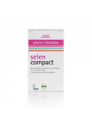 GSE Selenium compact 500mg, 60 tabletten (30g) bio