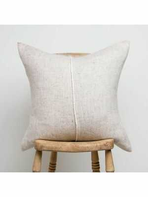 Sisteron Pillow Cover from Teixidors is made of 100% organic wool