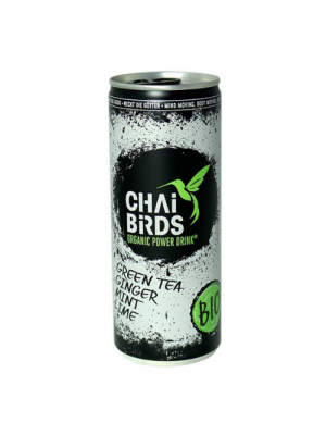 Chai Birds Energy Drink Green tea 250 ml, organic