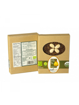 Ecoficus Fig cake with almonds 250g, organic