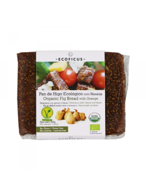Ecoficus Fig Bread with Orange 200g, organic