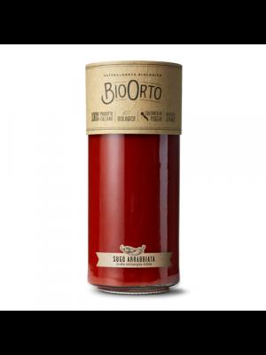Bio Orto Sauce tomate Arrabbiata, bocal en verre 550g bio