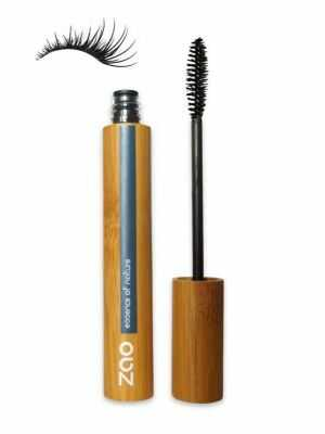 Mascara noir pour plus de volume de ZAO - maquillage 100 % naturel pour les yeux sensibles