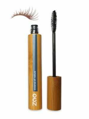 Bruine mascara voor meer volume van ZAO - 100% natuurlijke en veganistische make up