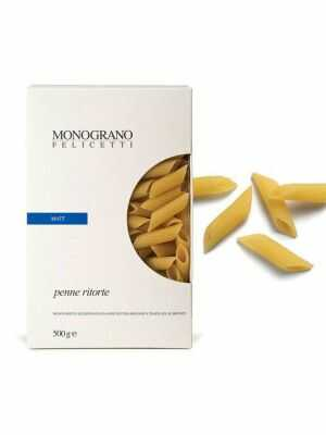 Monograno Felicetti Pasta Penne Ritorte / MATT 500g, organic