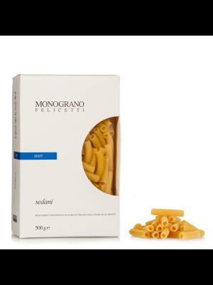 Monograno Felicetti Pasta Sedani 500g, bio