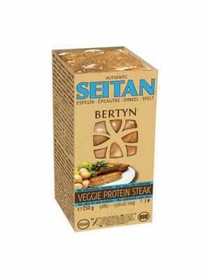 Bertyn Seitan Veggie Protein Steak, 250gr