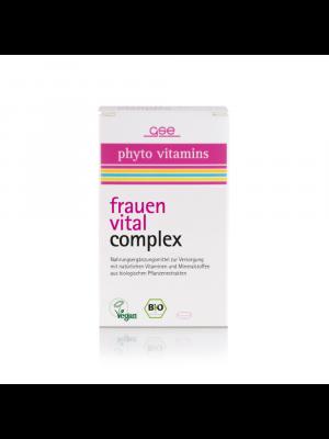 GSE Frauen Vital Vitamin Complex 60 Tabletten (30g) bio