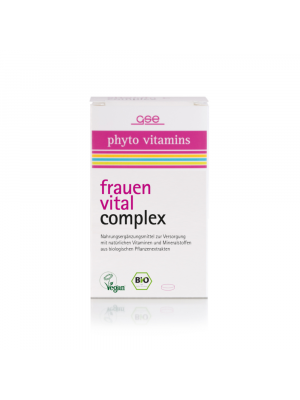 GSE Vrouwen Vitaal Vitaminen Complex 60 tabletten (30g) bio