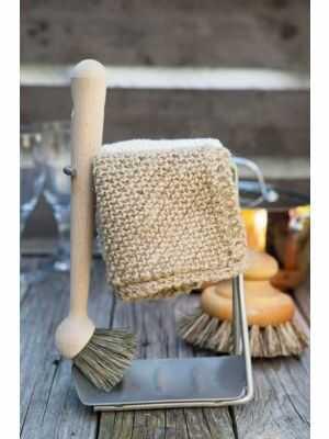 Chiffons abrasifs équitables de Toockies - 1 jute bio + 1 coton bio - pour la vaisselle, les légumes