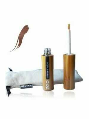 Bruine eyeliner van ZAO, essence of nature. Voor lichte huid-en haartypes.