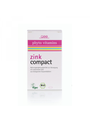 GSE Zink Compact 60 Tabletten (30g) bio