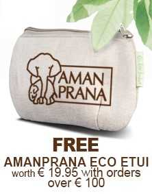 FREE AMANPRANA ECO ETUI worth € 19,95 with orders over € 100,-