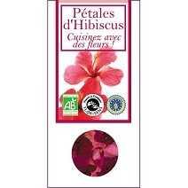 Eetbare bio bloemen - hibiscus