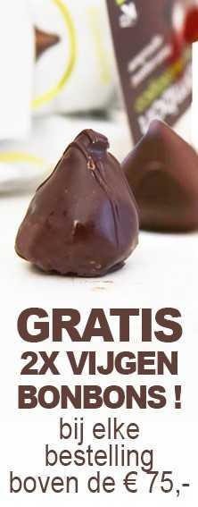 Gratis 2x Vijgen Bonbons bij een bestelling vanaf €75,-