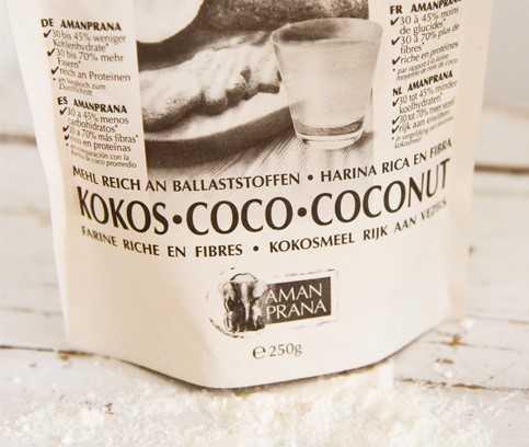 Kokosmeel glutenvrij