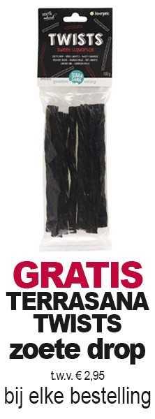 GRATIS Niulife Geraspte kokos t.w.v. € 5,10 bij elke bestelling