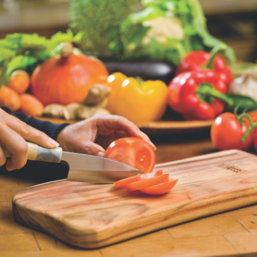 Why you need a Qi-board chopping board