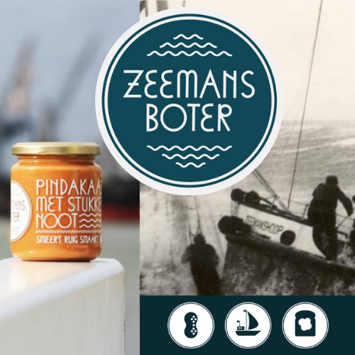 Zeemansboter: spreads rough, tastes rich