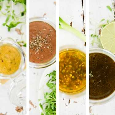 Recipes for Salad Dressings