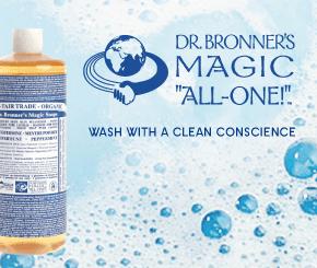 Dr. Bronner's biologische & Fair Trade zeep en verzorgende producten
