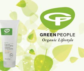 Green People, biologische Hautpflege, ohne Parabene, Chemikalien oder sonstige schädliche Zusätze