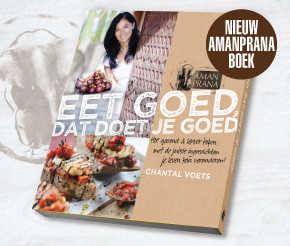 Amanprana boek - Eet goed, dat doet je goed - van Chantal Voets