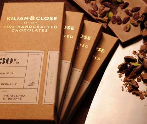 Vegan chocolate without soy, milk and artifical sugars - by Kilian & Close