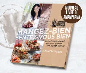 Livre d'Amanprana - Mangez bien, sentez-vous bien
