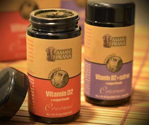 Vitamine D2+ Superfoods Consommé van Amanprana