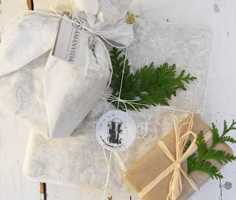 L'emballage durable d'Amanvida pour vos cadeaux de Noël