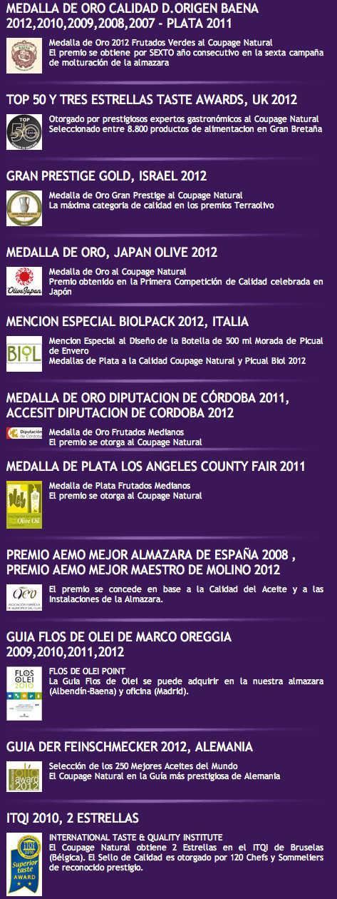 Cortijo de Suerte Alta awards
