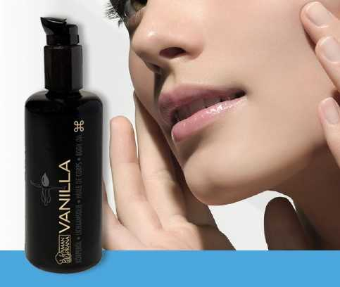 Free Bottle of Organic Vanilla Facial Oil with Purchases over € 200.