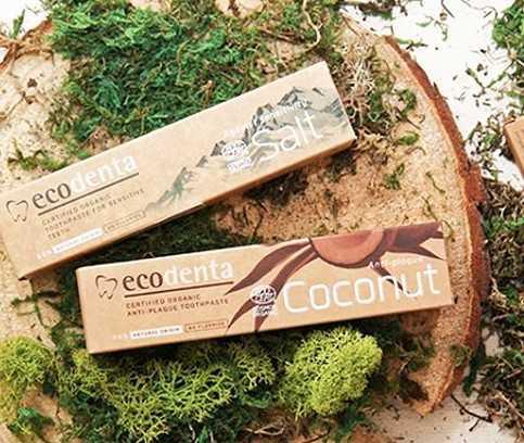 Ecodenta, Zahnpaste mit gutem Geschmack