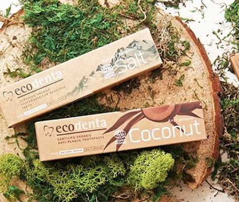 Les dentifrices naturels d' Ecodenta