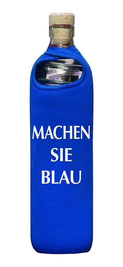 Eco Respekt Trinkflasche - BLAU